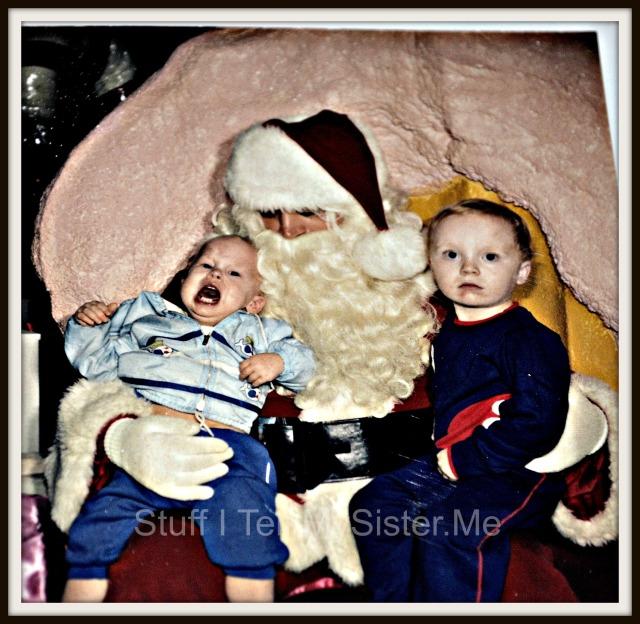 The creepy Santa.
