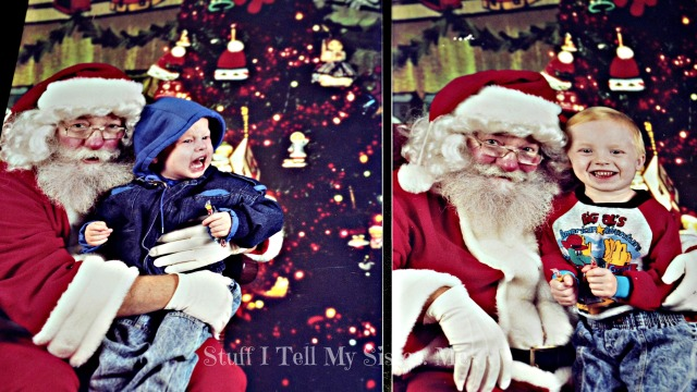 """The """"real"""" Santa from here on out!"""