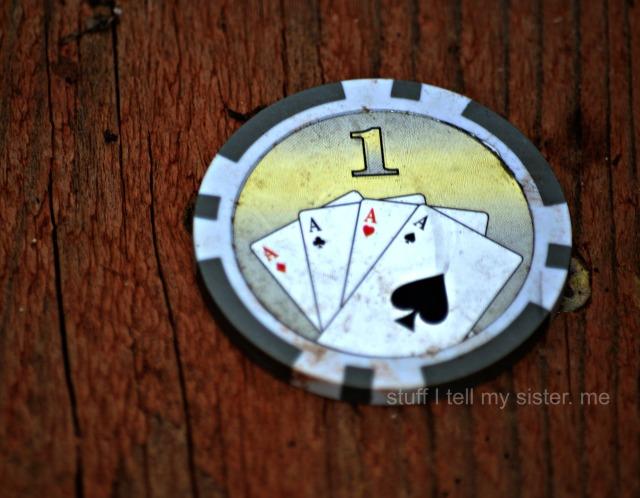 debris poker