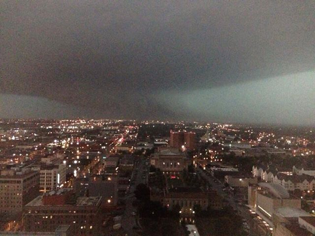Oklahoma City Tornado, May 31, 2013 Photographer Chris Morrow ~ taken from Facebook