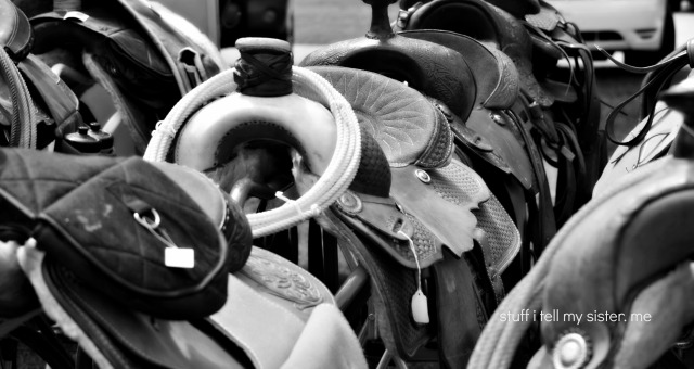 cowboys day saddles