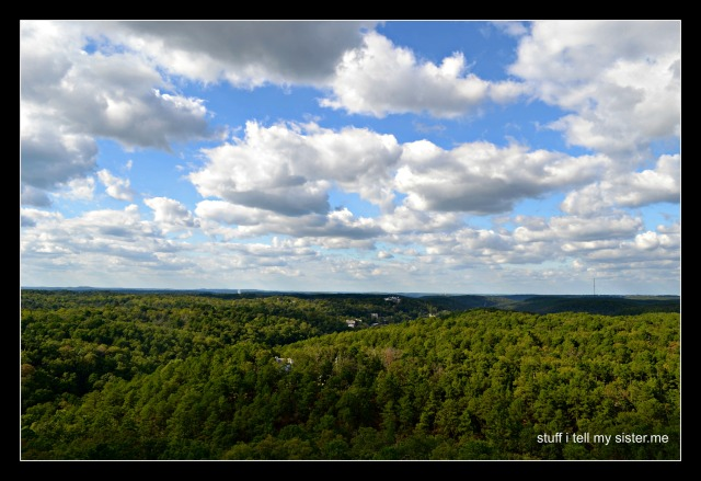 fall vacation cloud view