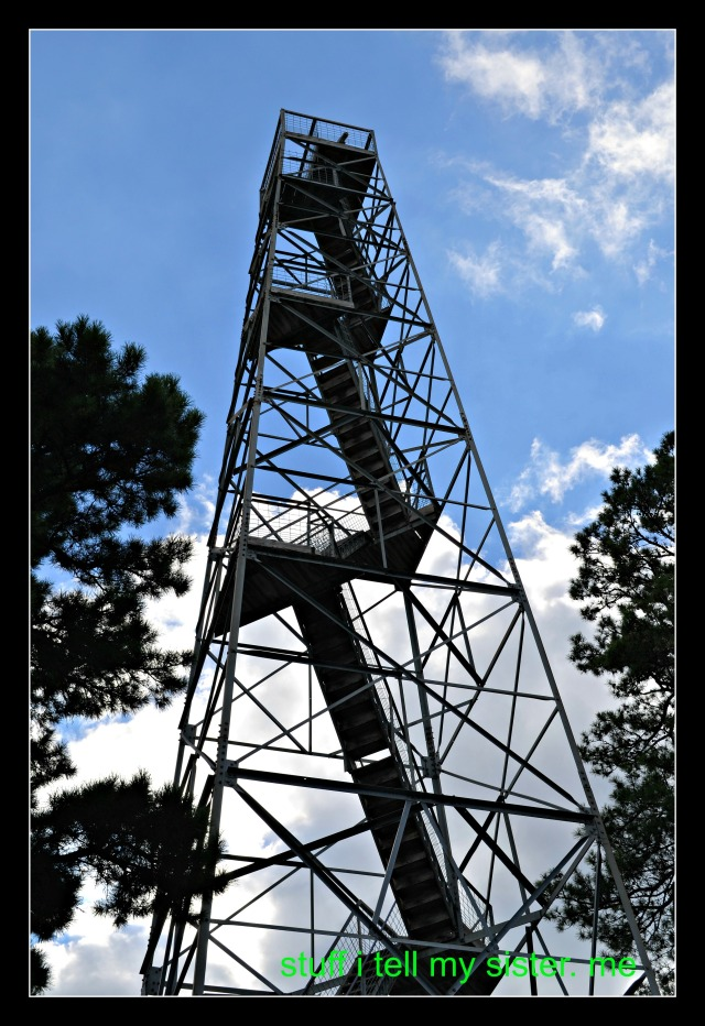 fall vacation fire tower