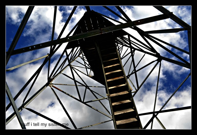fall vacation tower under