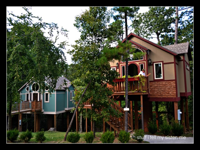 fall vacation tree house