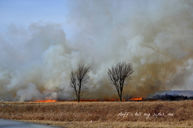 fire west of vinita 1