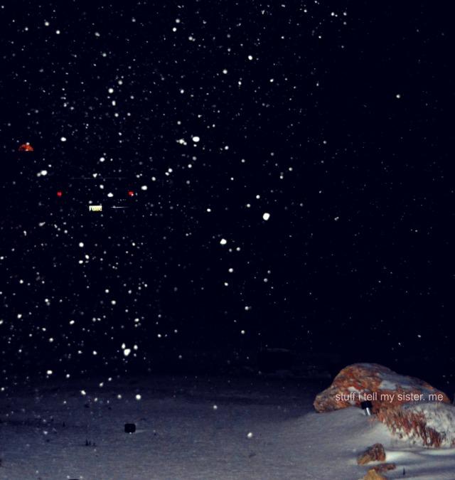 ugly snow pretty