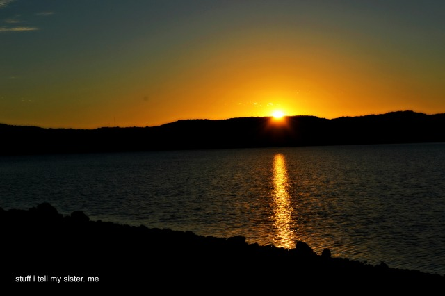 sugar ridge sunset