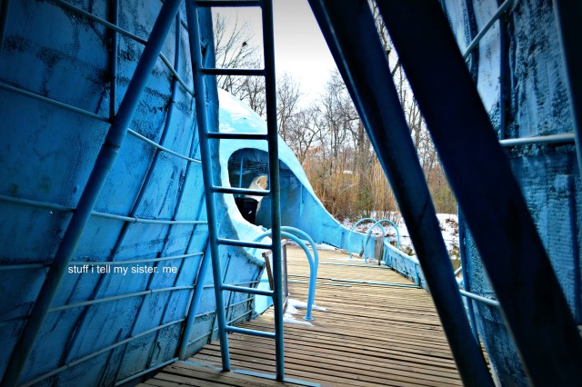 blue whale inside
